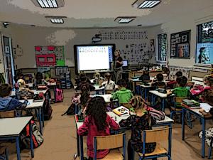 Classe de primaire: organisation pédagogique