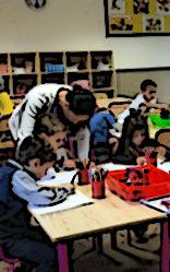 classe de cour préparatoire à l'école bilingue internationale