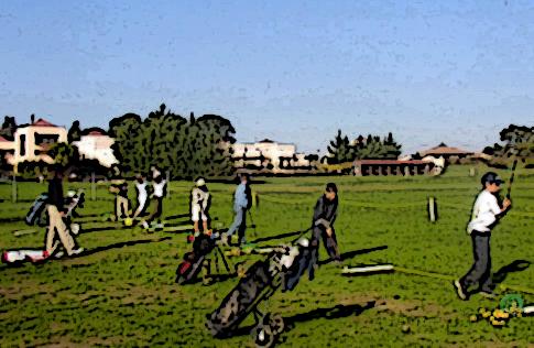 classe de golf à l'école internationale de montpellier baillargues