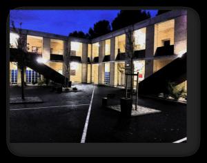bâtiment du lycée international de montpellier baillargues